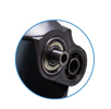 Ball bearings on all axes do not require maintenance and allow increasing high reliability resource
