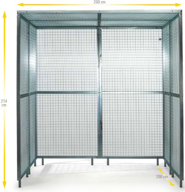 Cage for pulley therapy